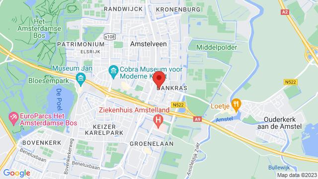 Amstelveen op Google Maps