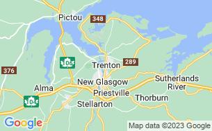 Map of Trenton Steel Town Centennial Park