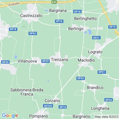 cartina Trenzano