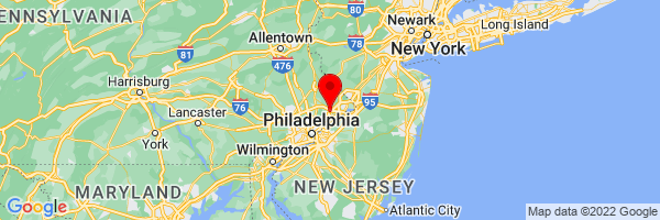 Google Map of Trevose, PA