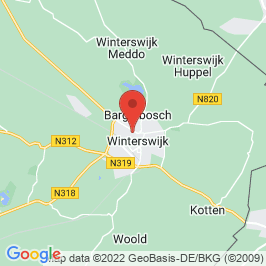 Google map of Wooncomplex Tricot, Winterswijk