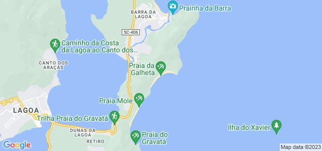 Trilha da Galheta, Parque Municipal da Galheta, Florianópolis - SC