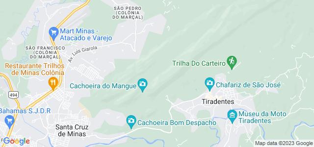 Trilha do Carteiro, Serra de São José, Tiradentes, Minas Gerais - MG