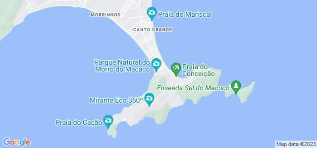 Trilha do Morro do Macaco, Bombinhas, SC