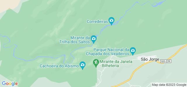Trilha dos Saltos, Parque Nacional da Chapada dos Veadeiros, Goiás