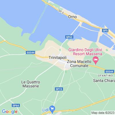 cartina Trinitapoli