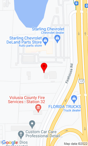 Google Map of Triple D Equipment Inc. 2820 S Firehouse Road, Deland, FL, 32720