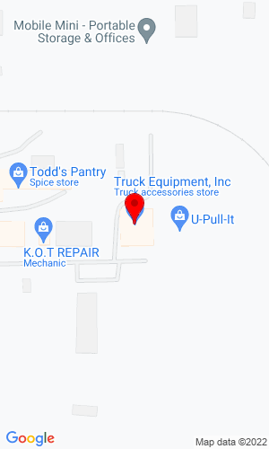 Google Map of Truck Equipment Inc 1560 NE 44th Avenue, Des Moines, IA, 50316