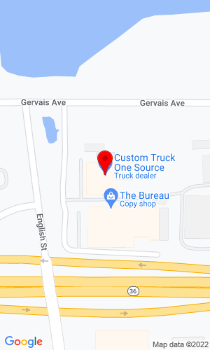 Google Map of Truck Utilities 2370 English Street, St Paul, MN, 55109