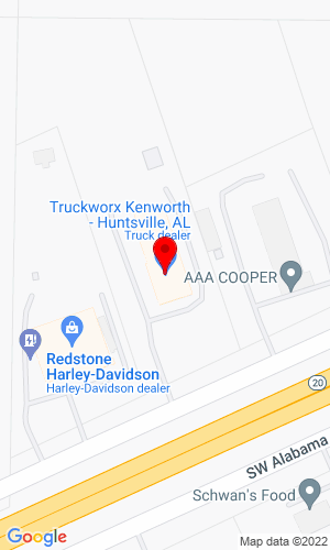 Google Map of Truckworx 15090 AL Hwy 20, Madison, AL, 35756