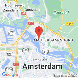 Google map of NDSM-terrein, Amsterdam