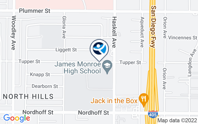 North Hills Location and Directions