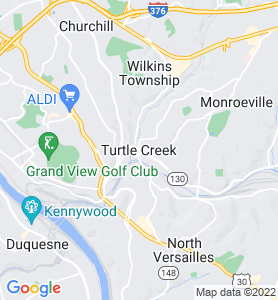 Turtle Creek PA Map