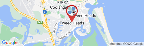 Tweed Heads google map
