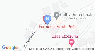 ARRUTI PEÑA FARMAZIA mapa