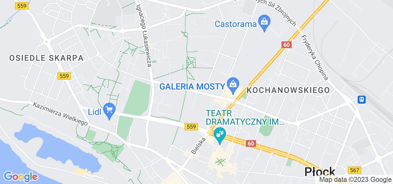 Osiedle Tysiąclecia w Płocku – w tych punktach ekspresowo wyślesz turbinę do autoryzowanego serwisu