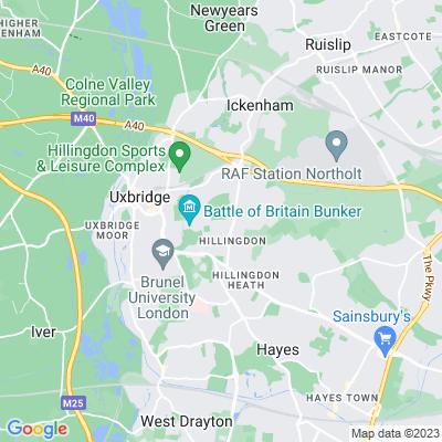 Hillingdon Court Park Location
