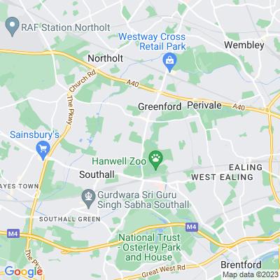 Greenford Park Cemetery Location