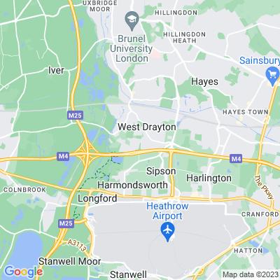 West Drayton Cemetery Location