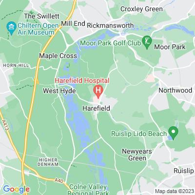 Harefield Hospital Location