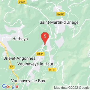 Carte Serrurier Uriage