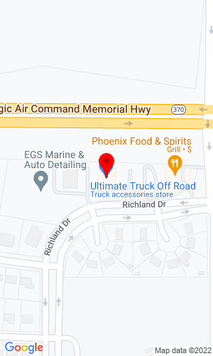 Google Map of Ultimate Truck & Auto Accessories 15 N Argonne, Spokane, WA, 99212