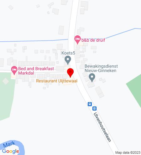Google Map of Ulvenhoutselaan 96 4834 MH Breda