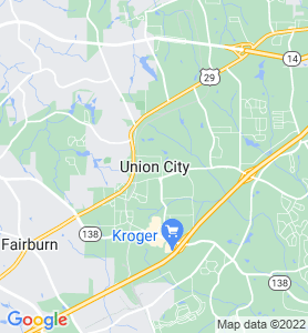 Union City GA Map