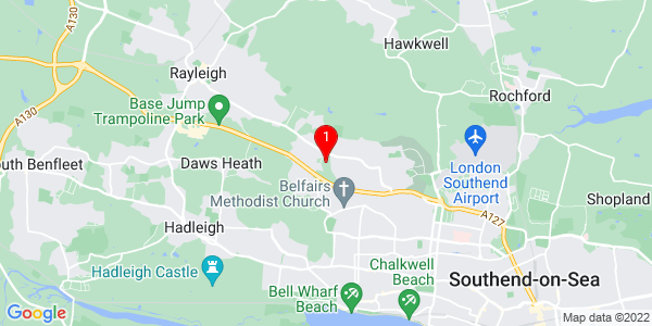 Google Map of Unit 3 Cabinet Way, Leigh-On-Sea, Essex SS9 5LP