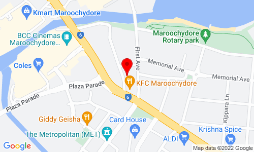 Google Map of Unit 5, 18-22 First Avenue Maroochydore QLD 4558