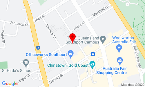Google Map of Unit 7, 52 Davenport Street Southport QLD 4215