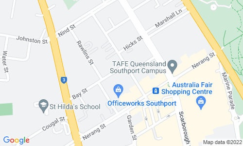 Google Map of 97 Pirie Street, Adelaide SA 5000