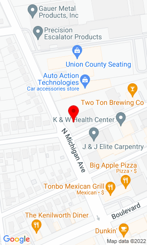 Google Map of United Crane Rental 111 N Michigan Avenue, Kenilworth, NJ, 07033,