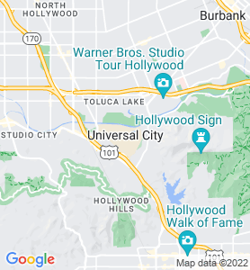 Universal City CA Map
