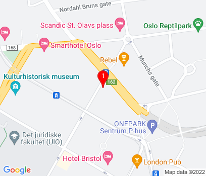 Google Map of Oslo