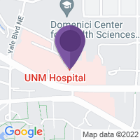 Google Map of University of New Mexico Hospital