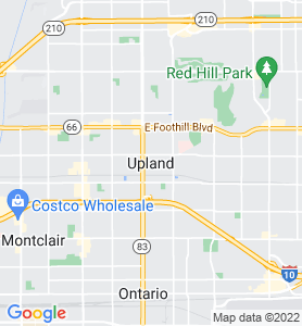 Upland CA Map