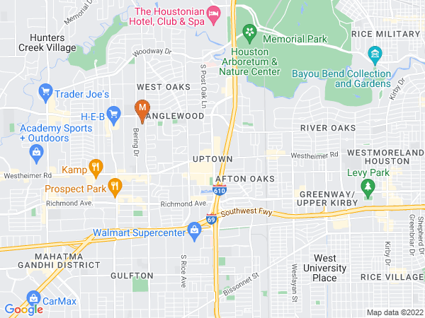Google Map of Marlin USA Energy Partners - Houston