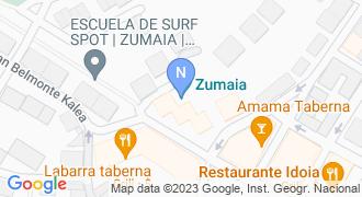 Autos Zumaia mapa