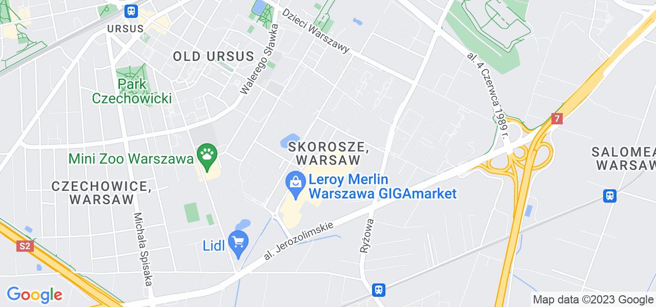 Osiedle Ursus - Skorosze w Warszawie – w tych punktach ekspresowo wyślesz turbinę do autoryzowanego serwisu