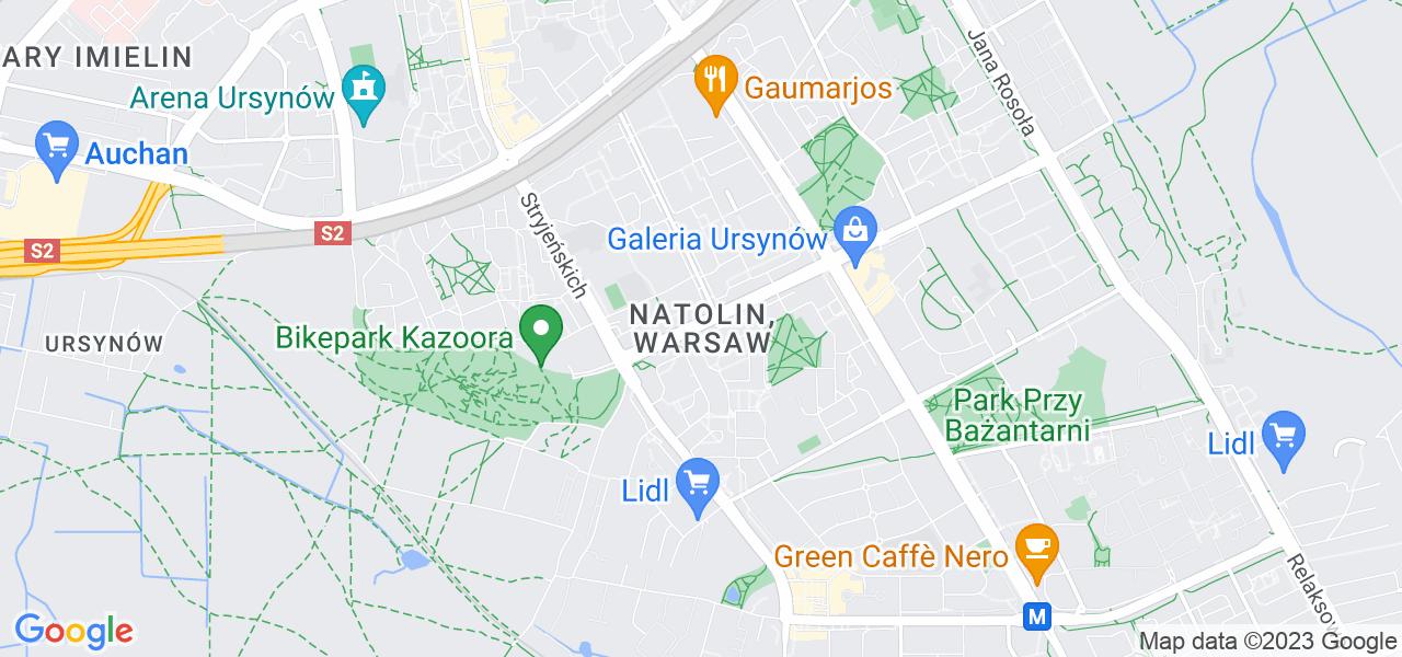 Osiedle Ursynów - Natolin w Warszawie – w tych punktach ekspresowo wyślesz turbinę do autoryzowanego serwisu