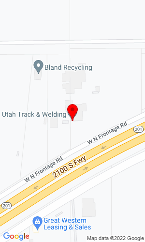 Google Map of Utah Track & Welding Inc. 6382 West 2100 South, Salt Lake City, UT, 84128
