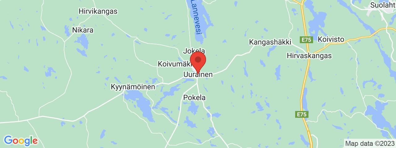 Osoite kartalla