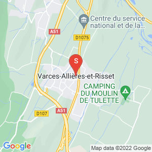 Carte Serrurier Varces-Allières-et-Risset