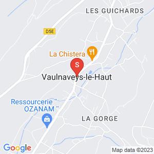 Carte Serrurier Vaulnaveys-le-Haut