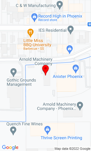 Google Map of VCES Phoenix 4323 E. Winslow Avenue, Phoenix, AZ, 85040