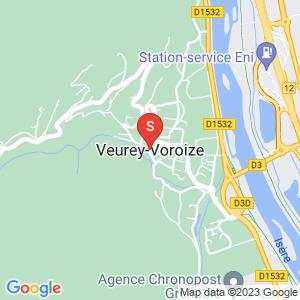 Carte Serrurier Veurey-Voroize