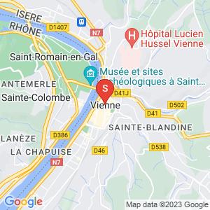 Carte Serrurier Vienne