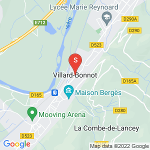 Carte Serrurier Villard-Bonnot