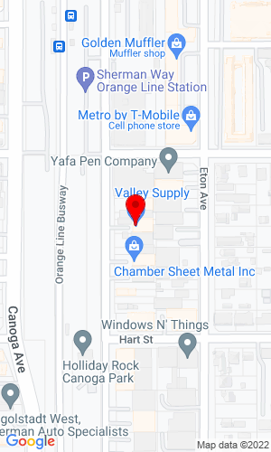 Google Map of Valley Supply & Equipment Co., Inc. 20332 Leitersburg Pike, Hagerstown, MD, 21742